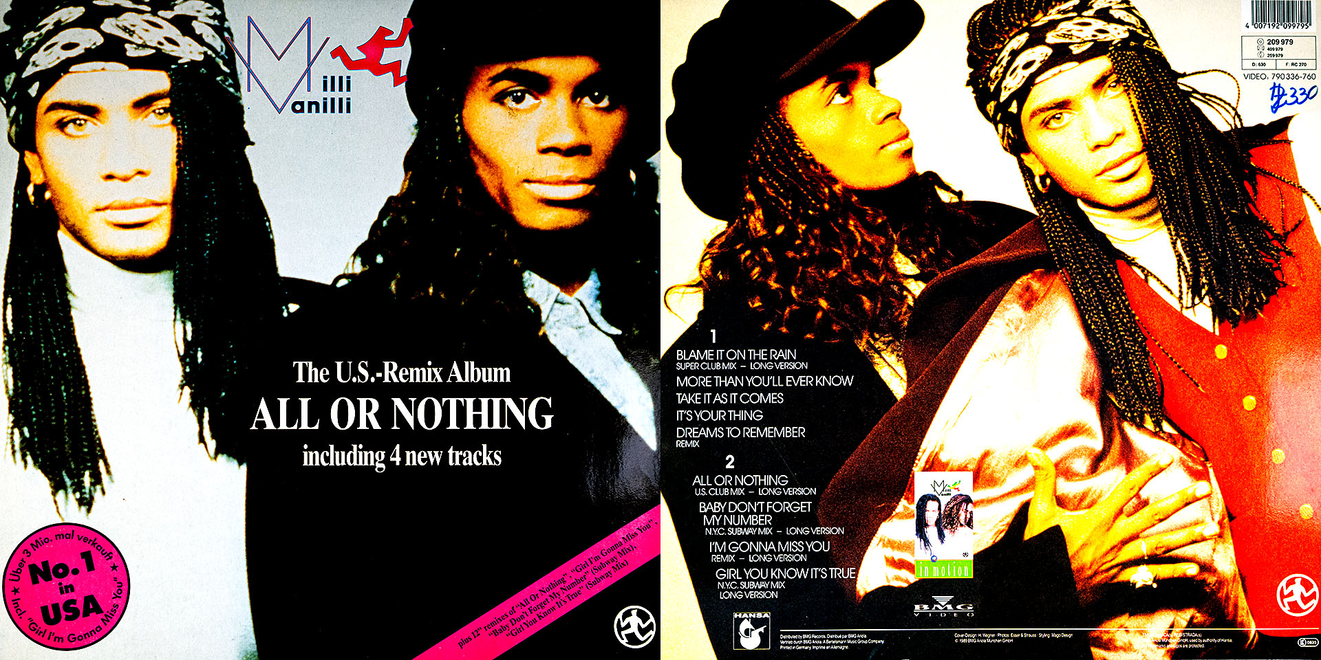 All Or Nothing - Milli Vanilli