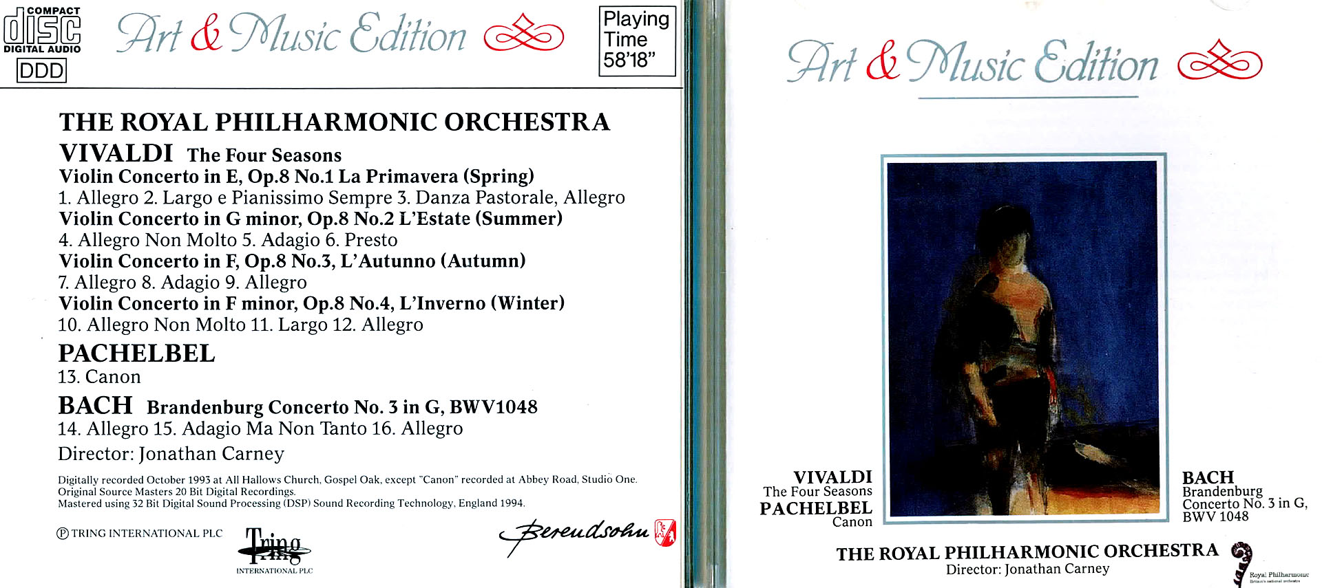 Art Music Edition - The Royal Philarmonic Orchestra