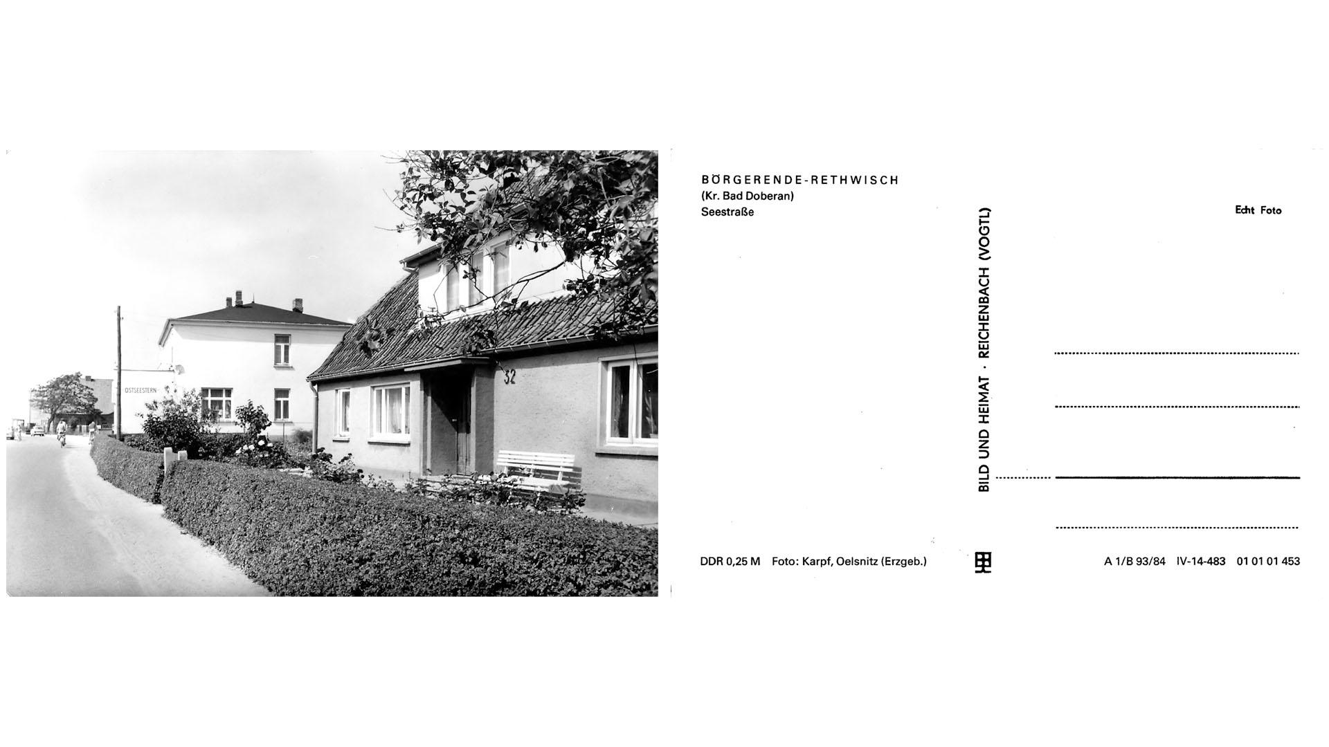 Börgerende-Rethwisch - Seestraße