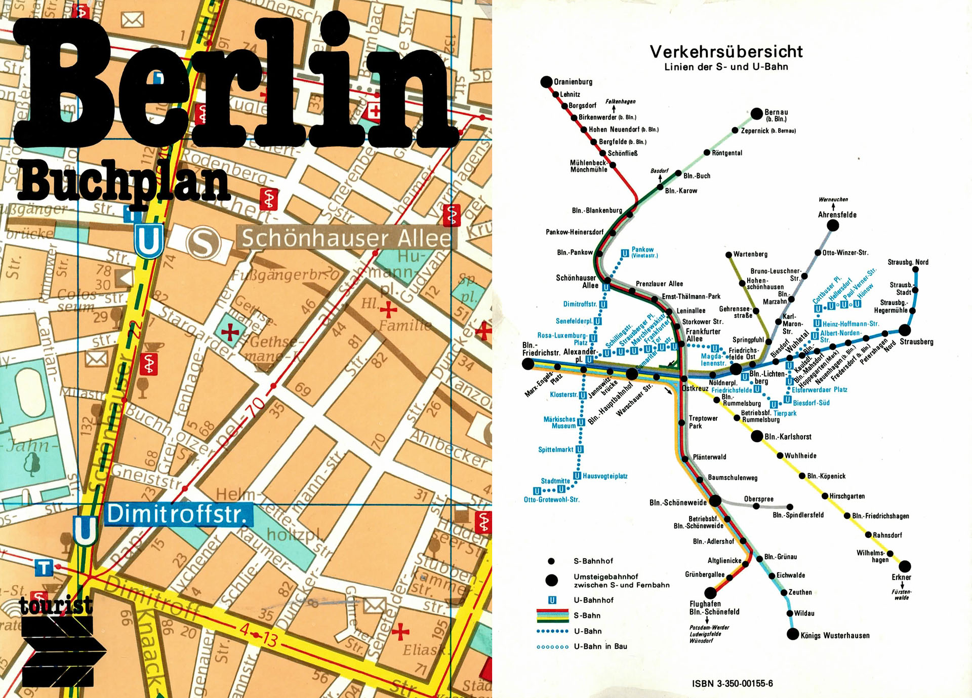 Berlin - Buchplan