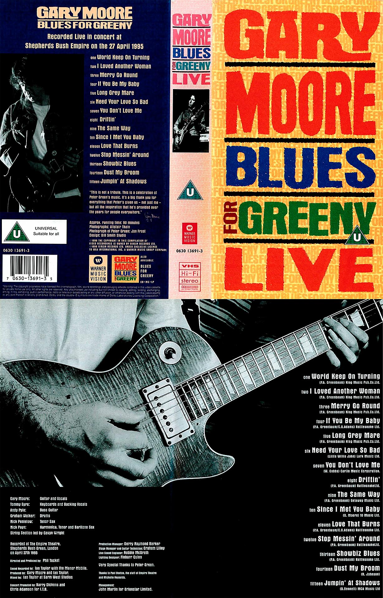 Blues For Greeny Live - Gary Moore