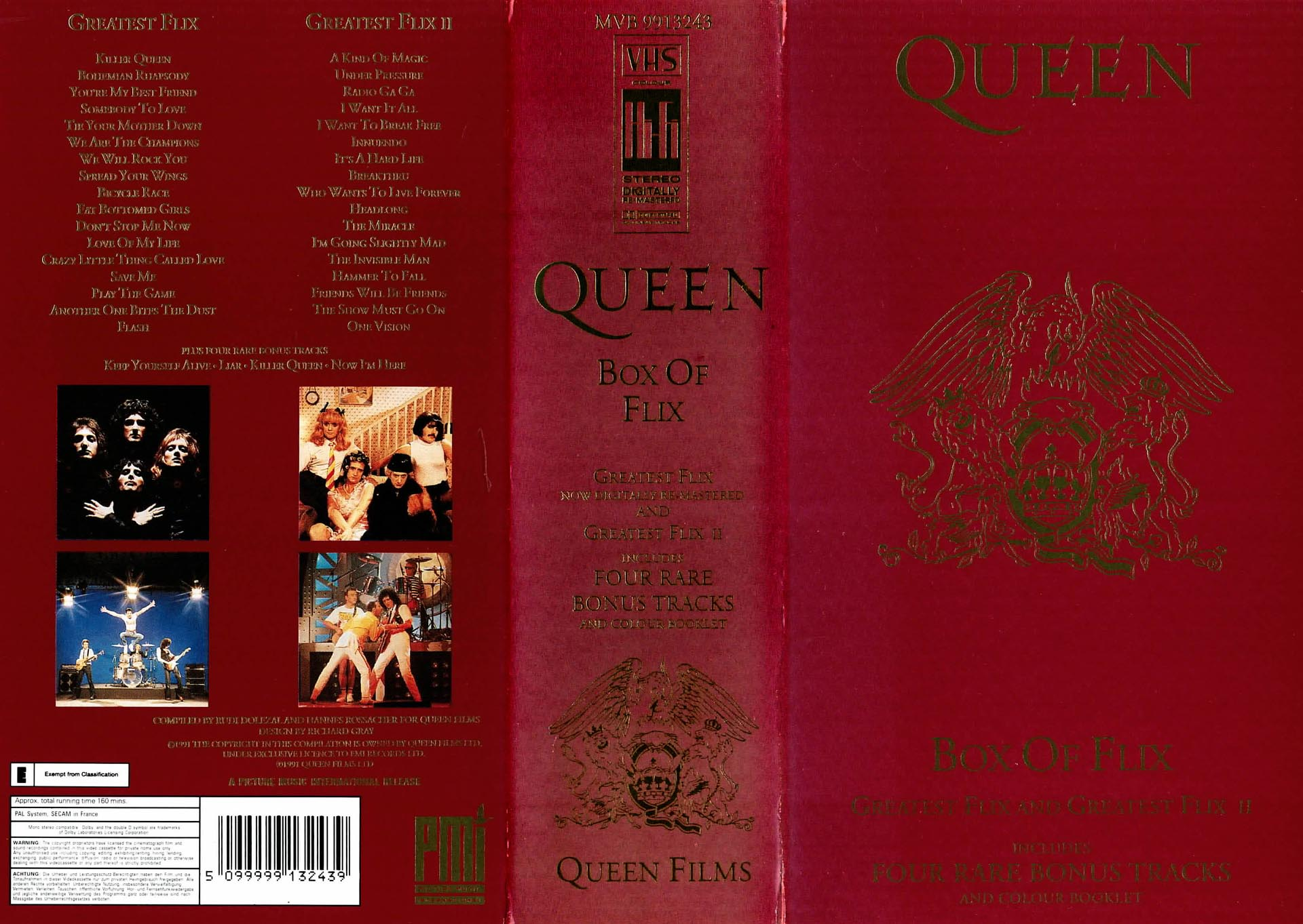 Box Of Flix - Queen