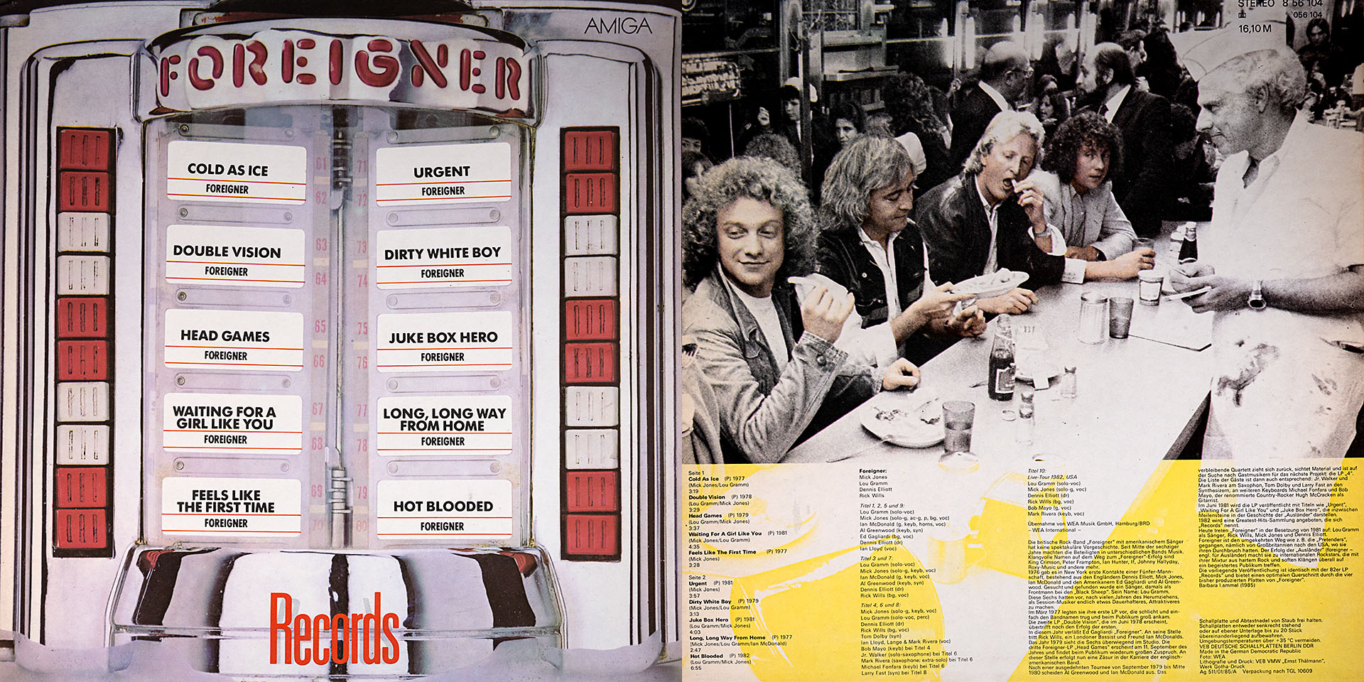 Foreigner - Records - Foreigner