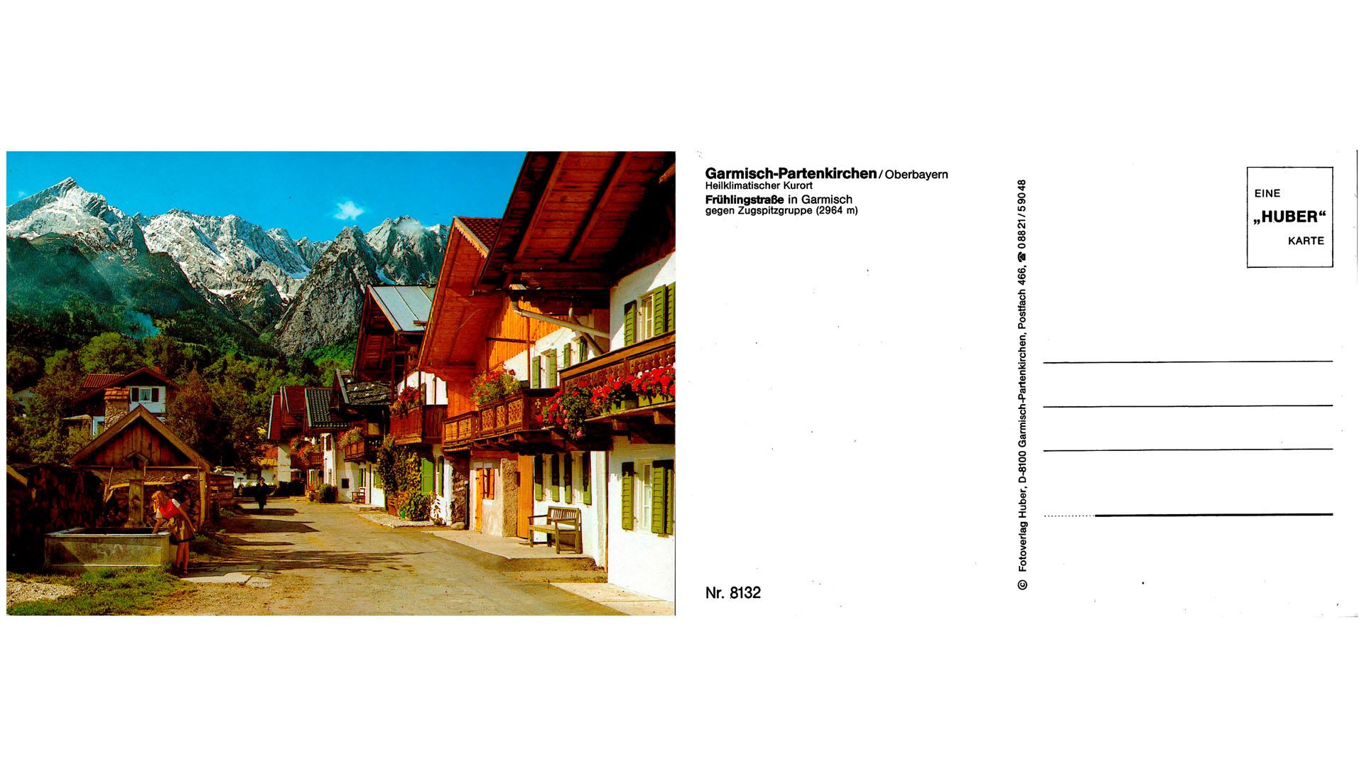 Garmisch-Partenkirchen - Frühlingstraße
