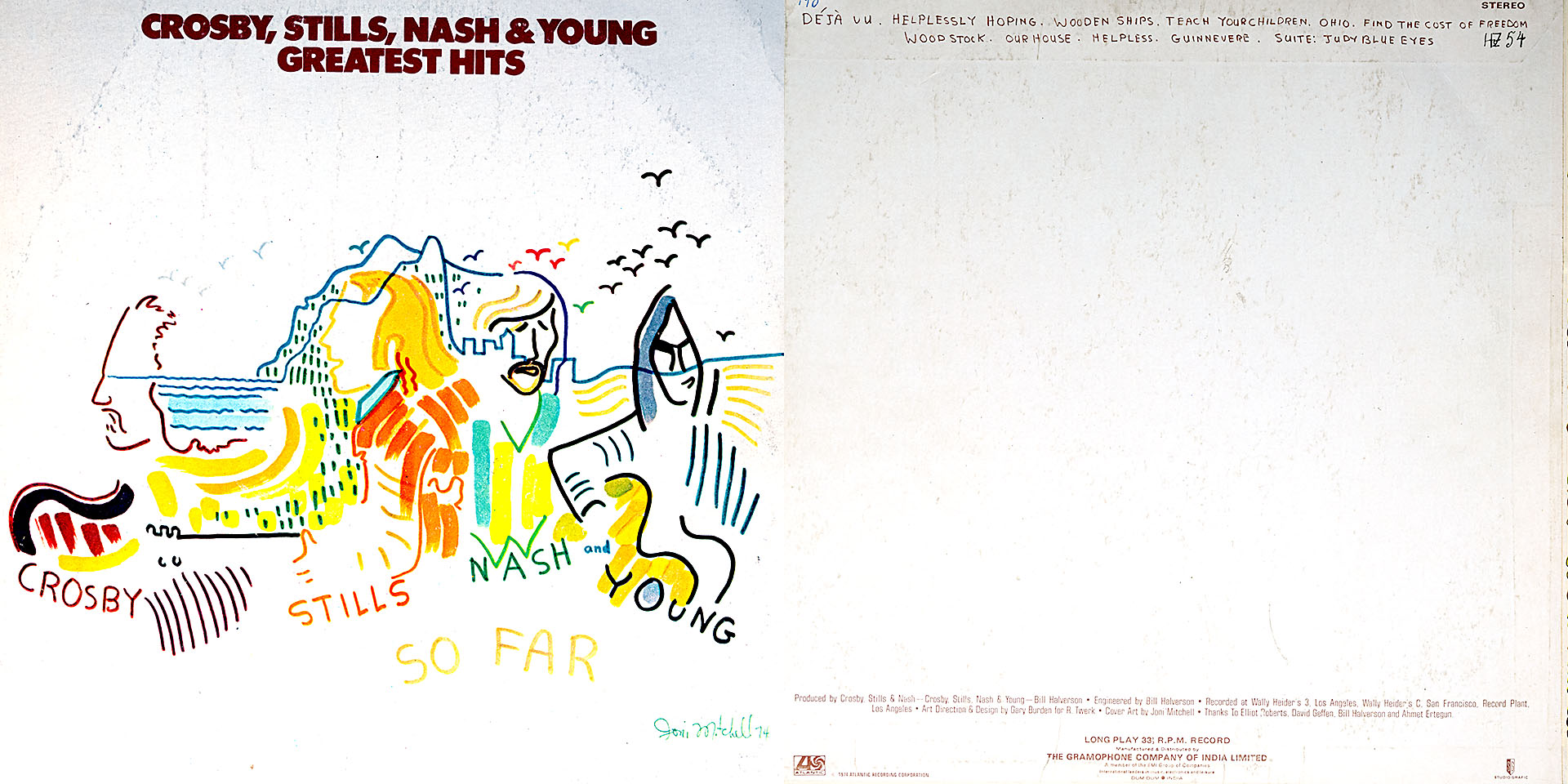 Greatest Hits - Grosby, Stills, Nash & Young - Grosby, Stills, Nash & Young