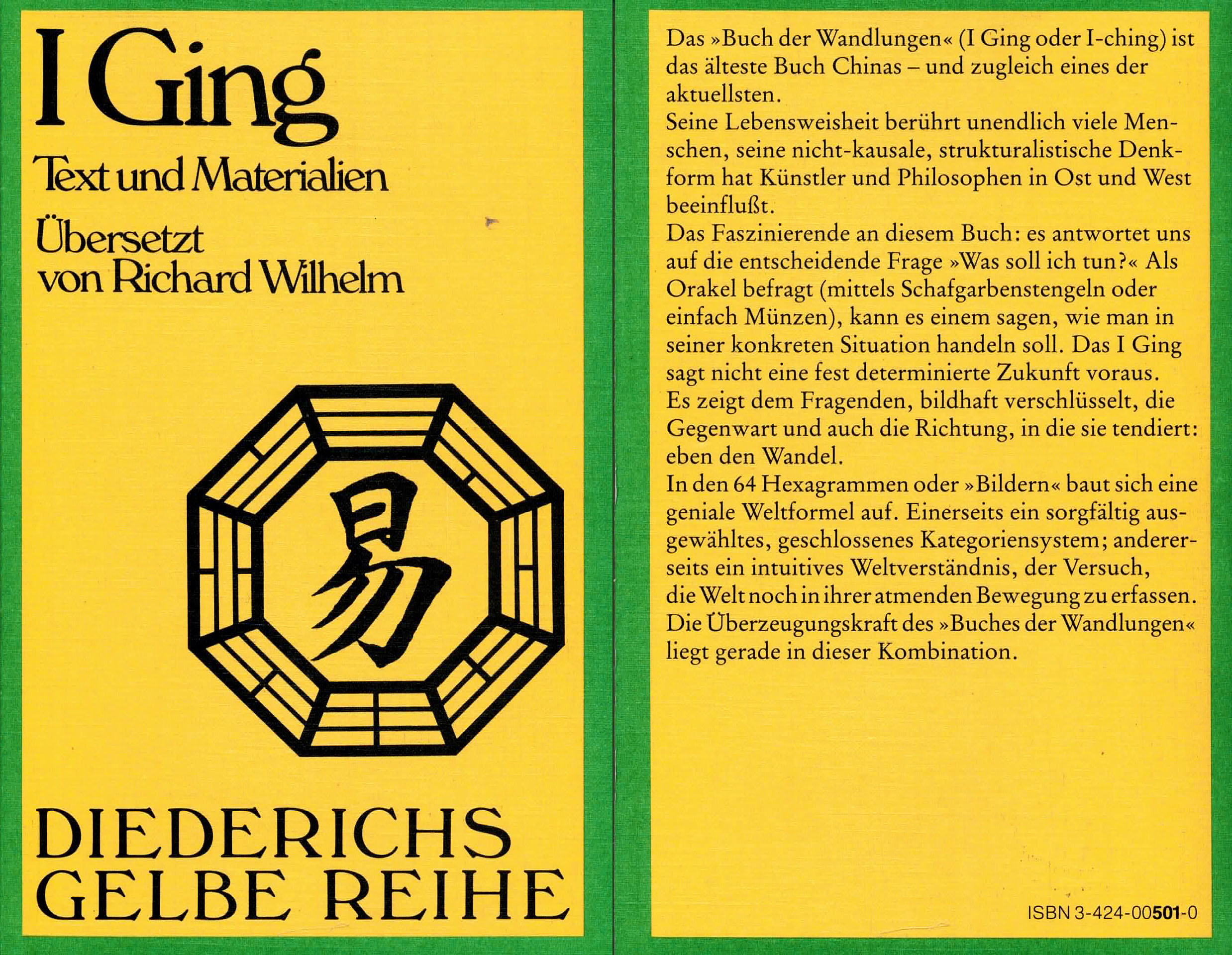 I Ging - Wilhelm, Richard