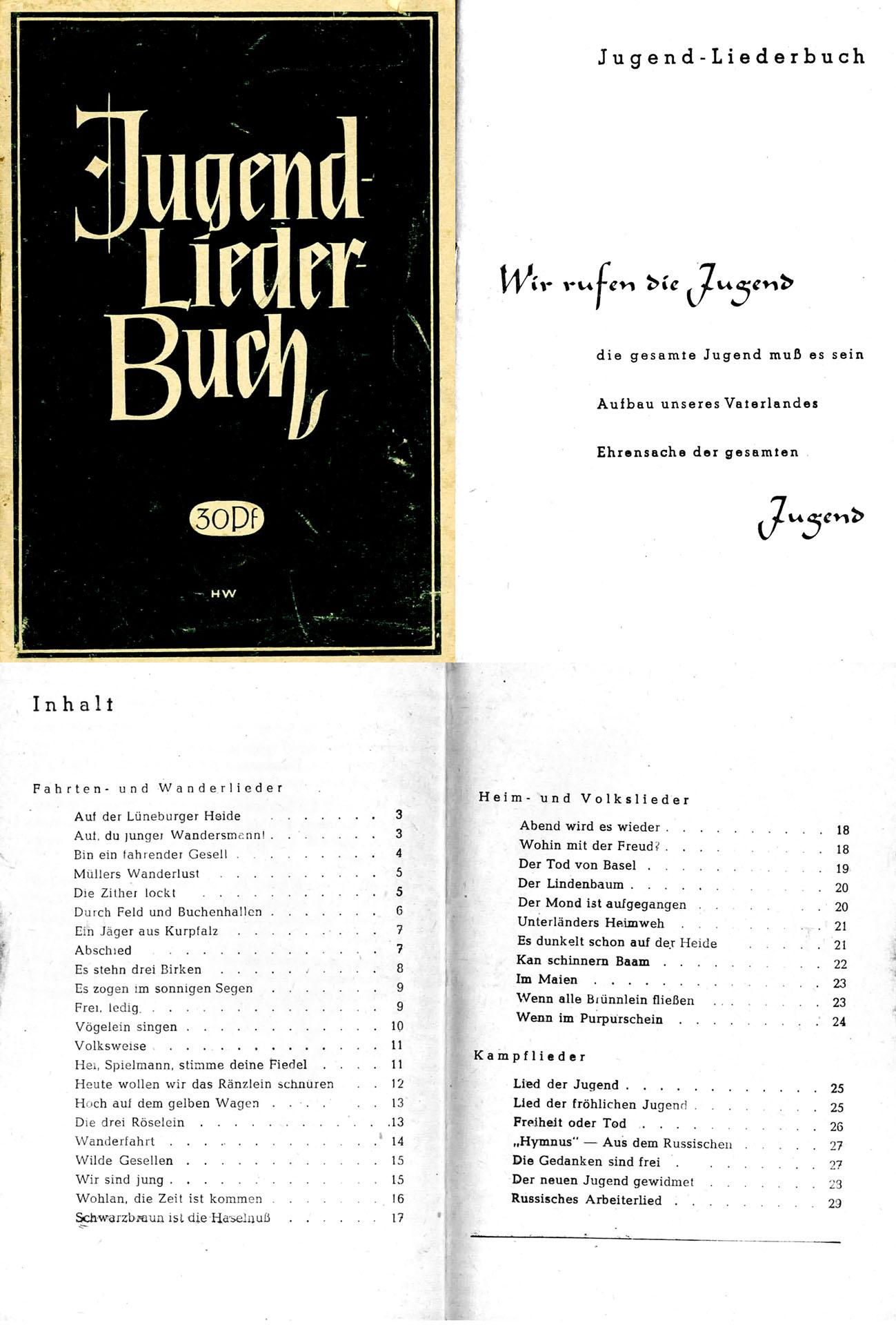 Jugendliederbuch