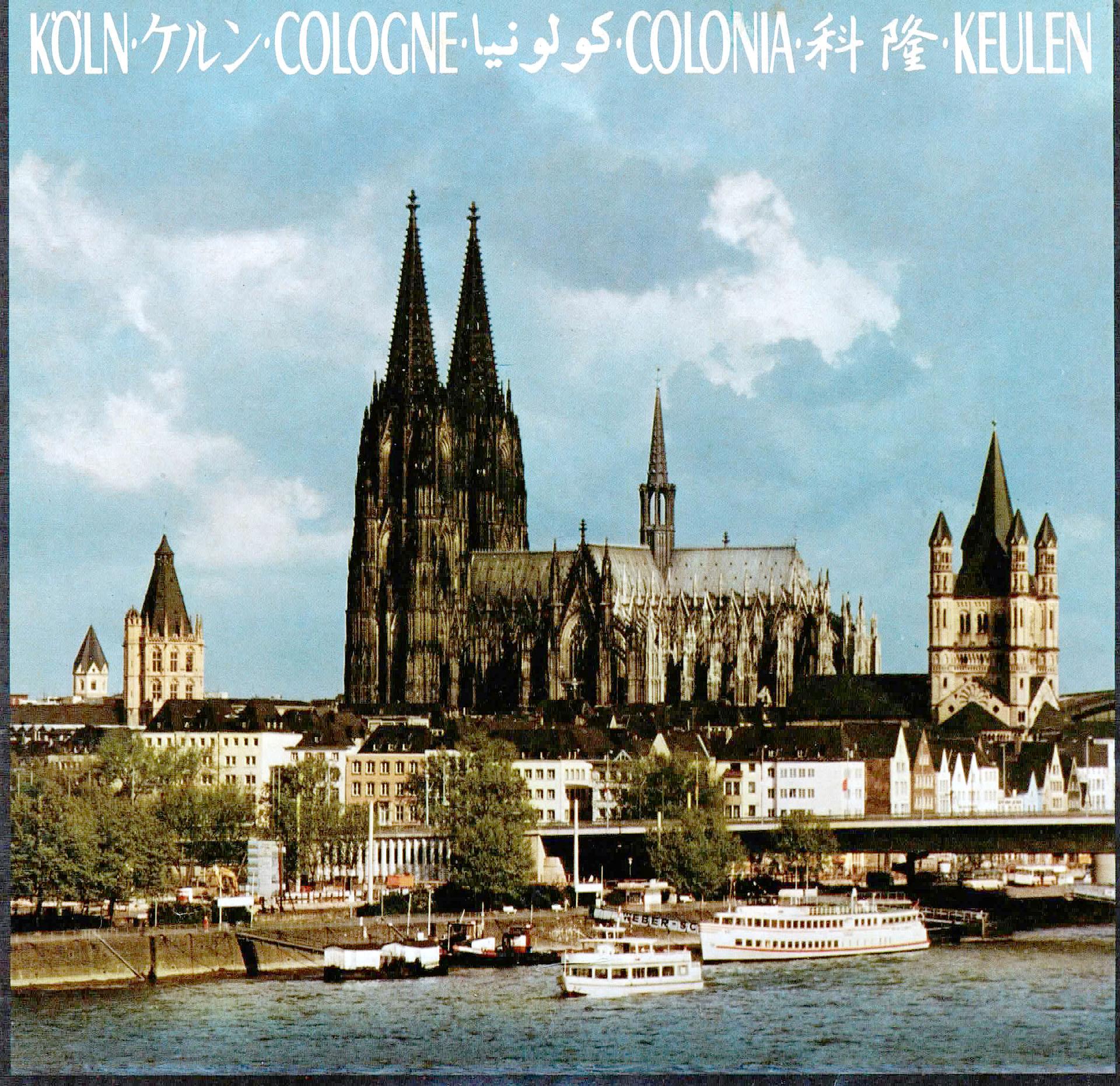 Köln - Cologne - Fremdenverkehrsamt