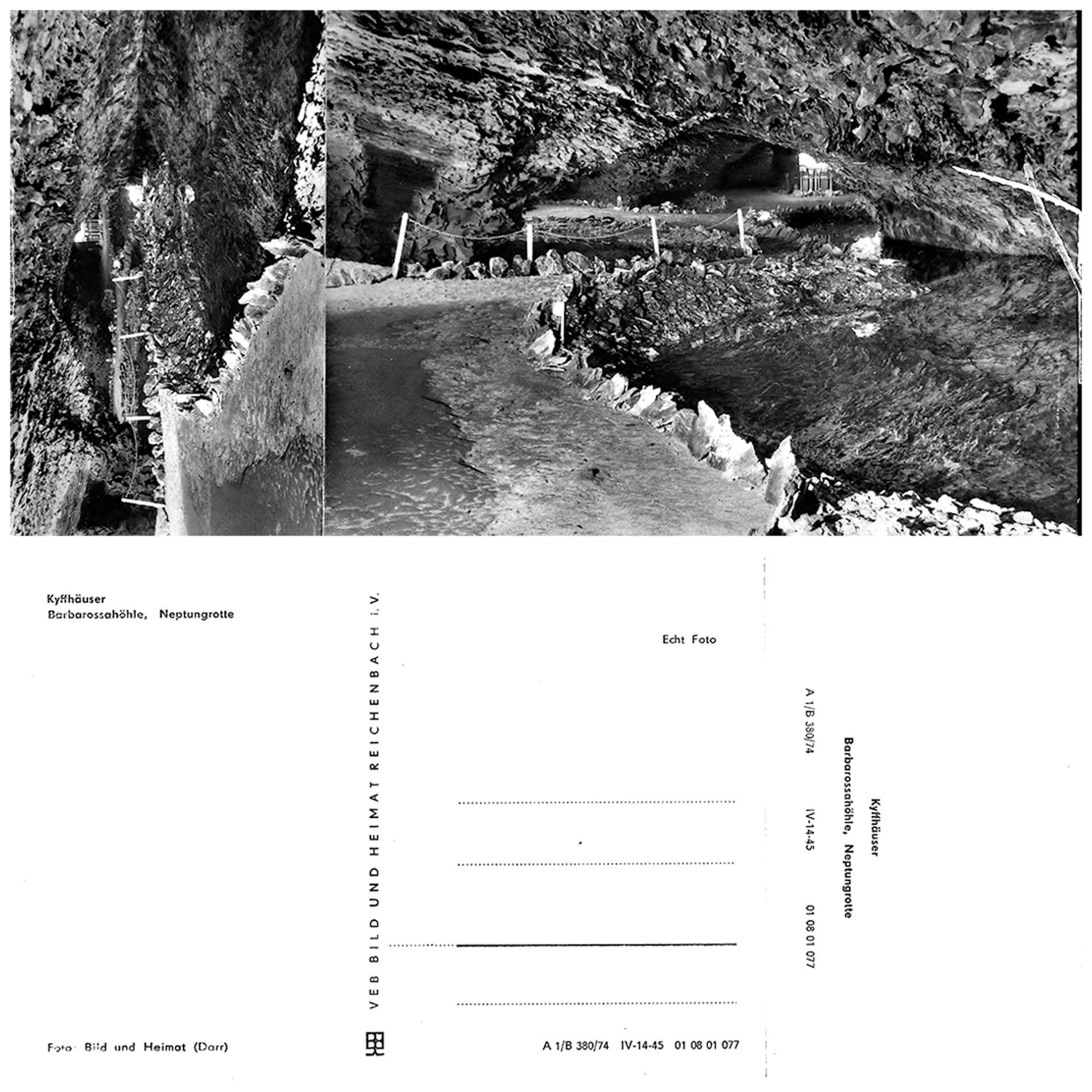 Kyffhäuser-Barbarossahöhle - Neptungrotte