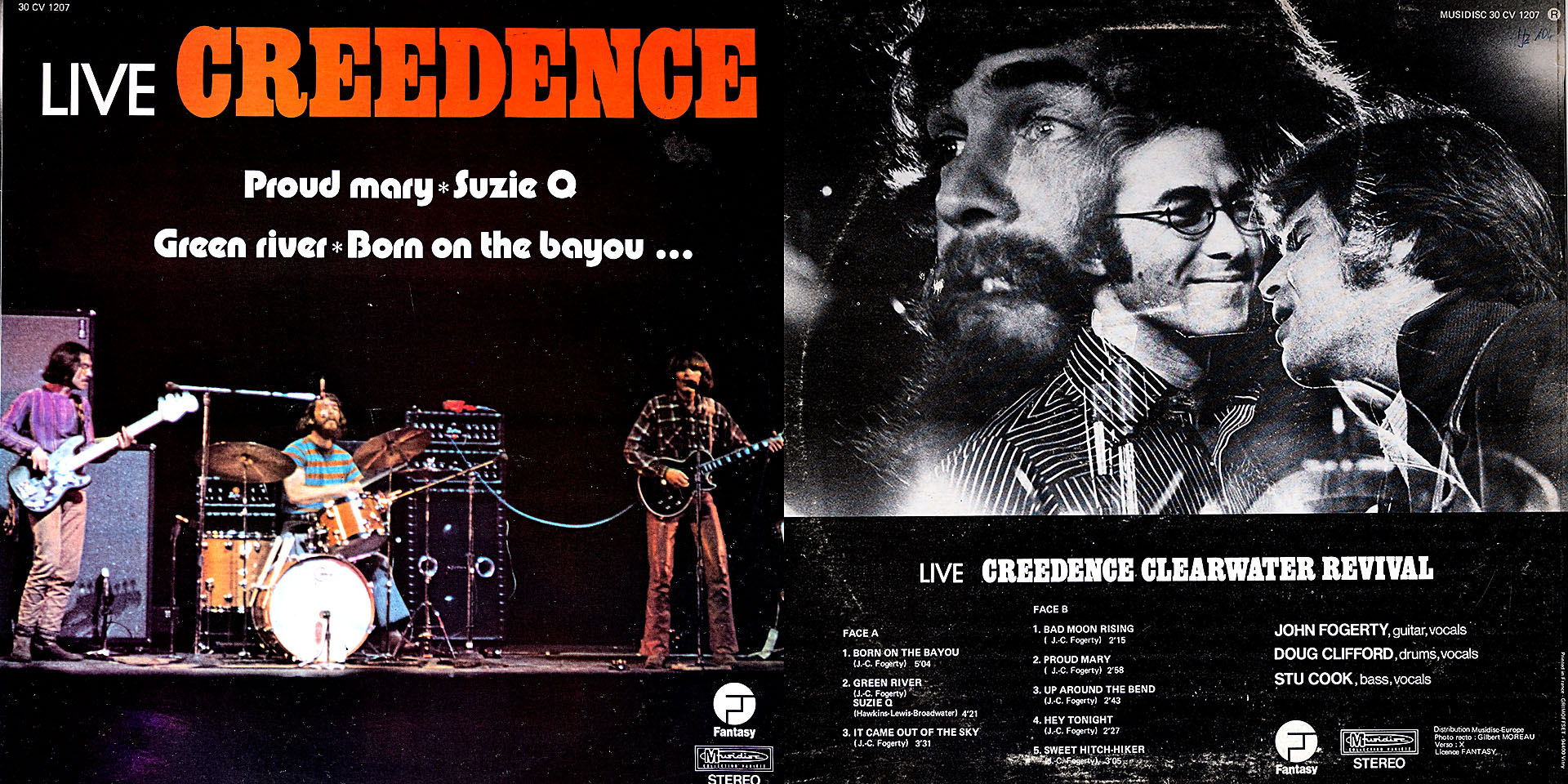 LIVE CREEDENCE - Creedence Clearwater Recival