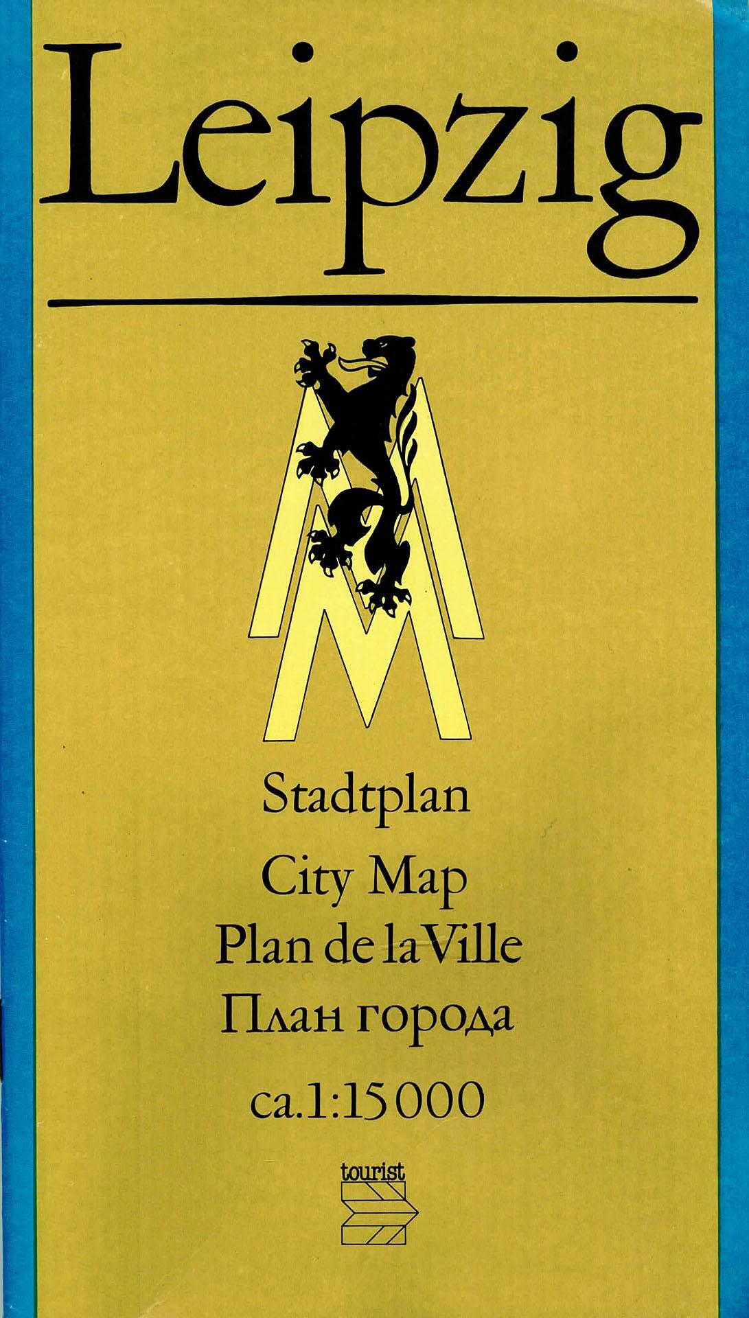Leipzig - Stadtplan