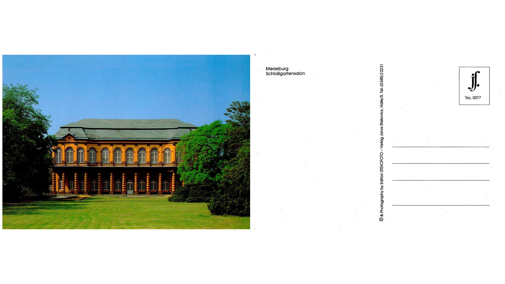 Merseburg - Schloßgartensalon