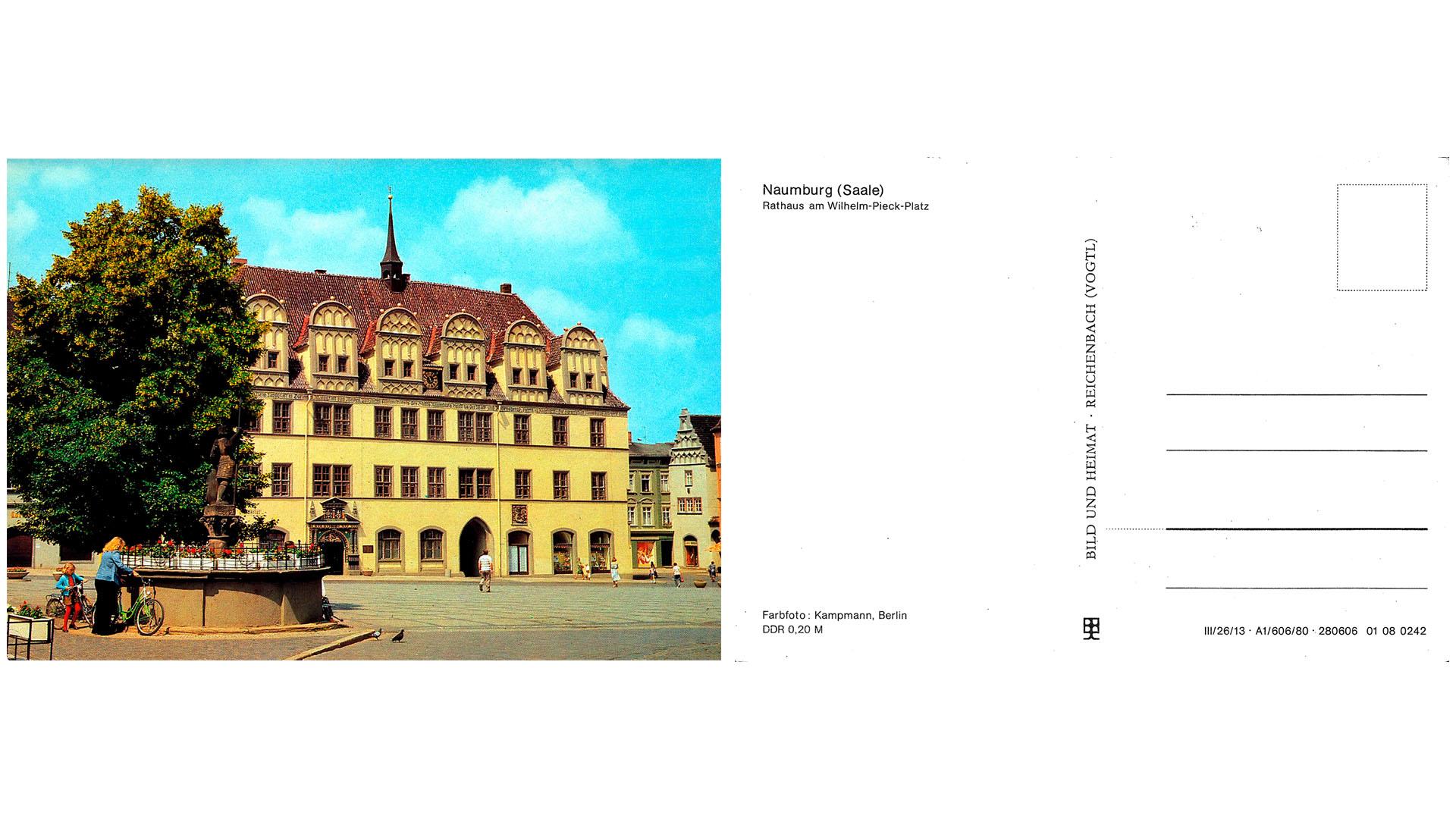 Naumburg - Rathaus