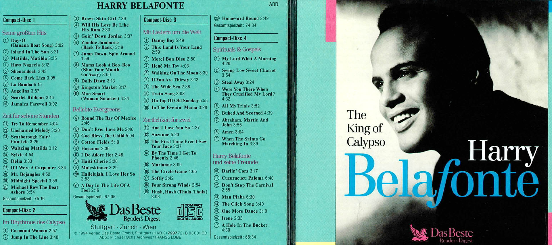 The King of Calypso - Harry Belafonte - Harry Belafonte