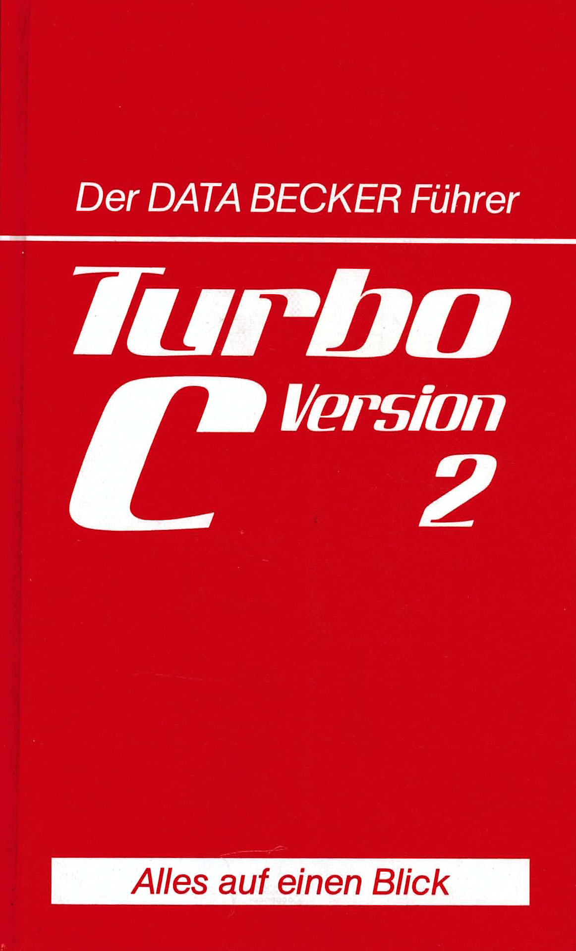 Turbo C Version 2 - Schieb, Jörg