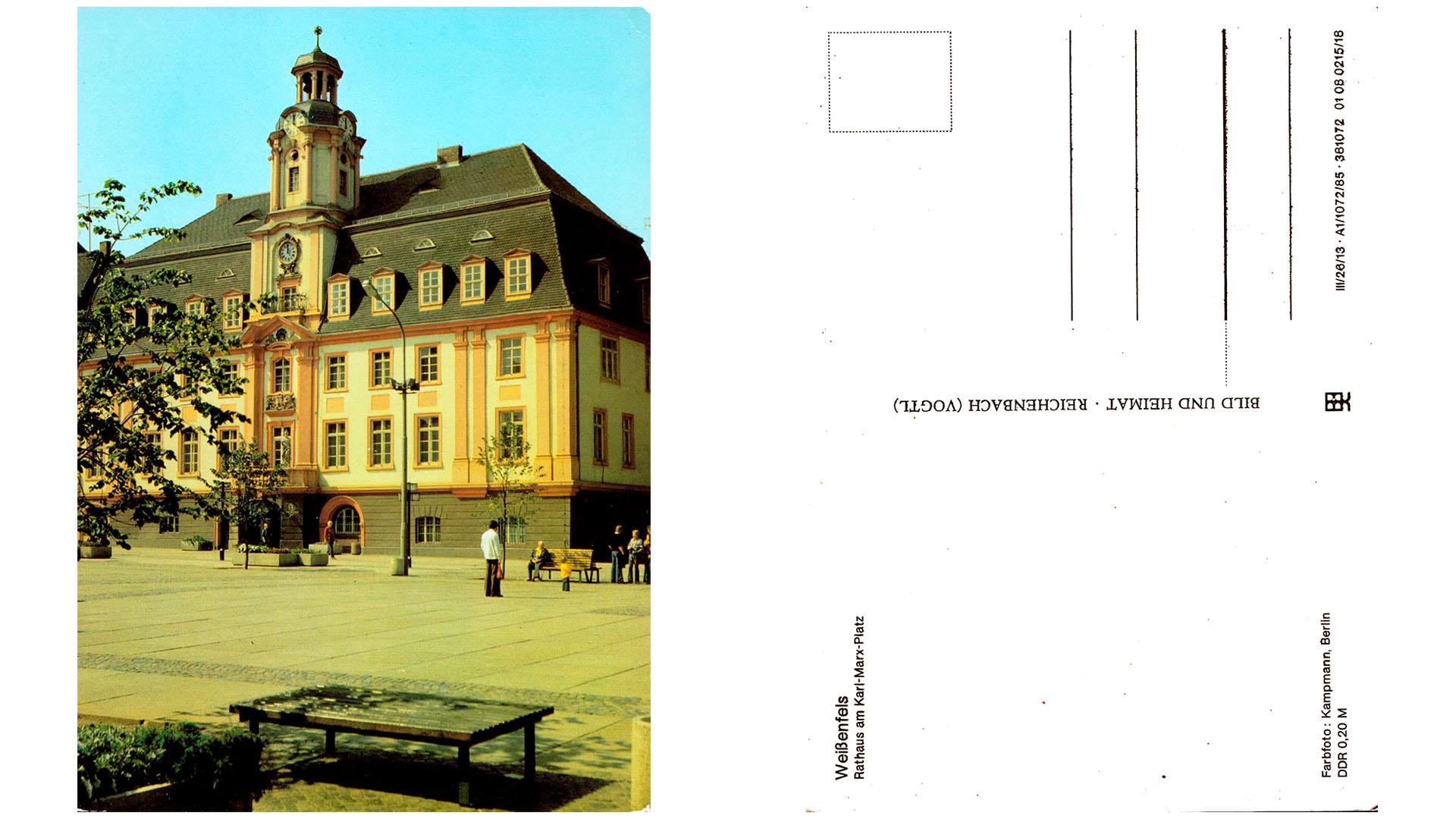 Weißenfels - Rathaus