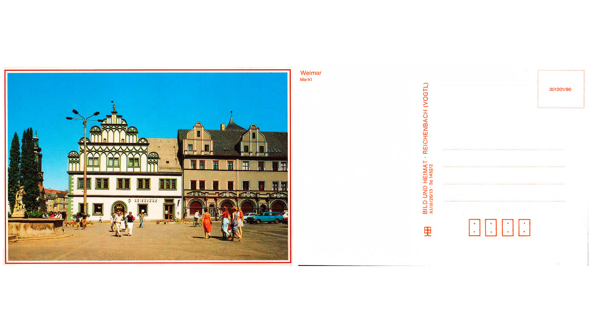 Weimar - Markt