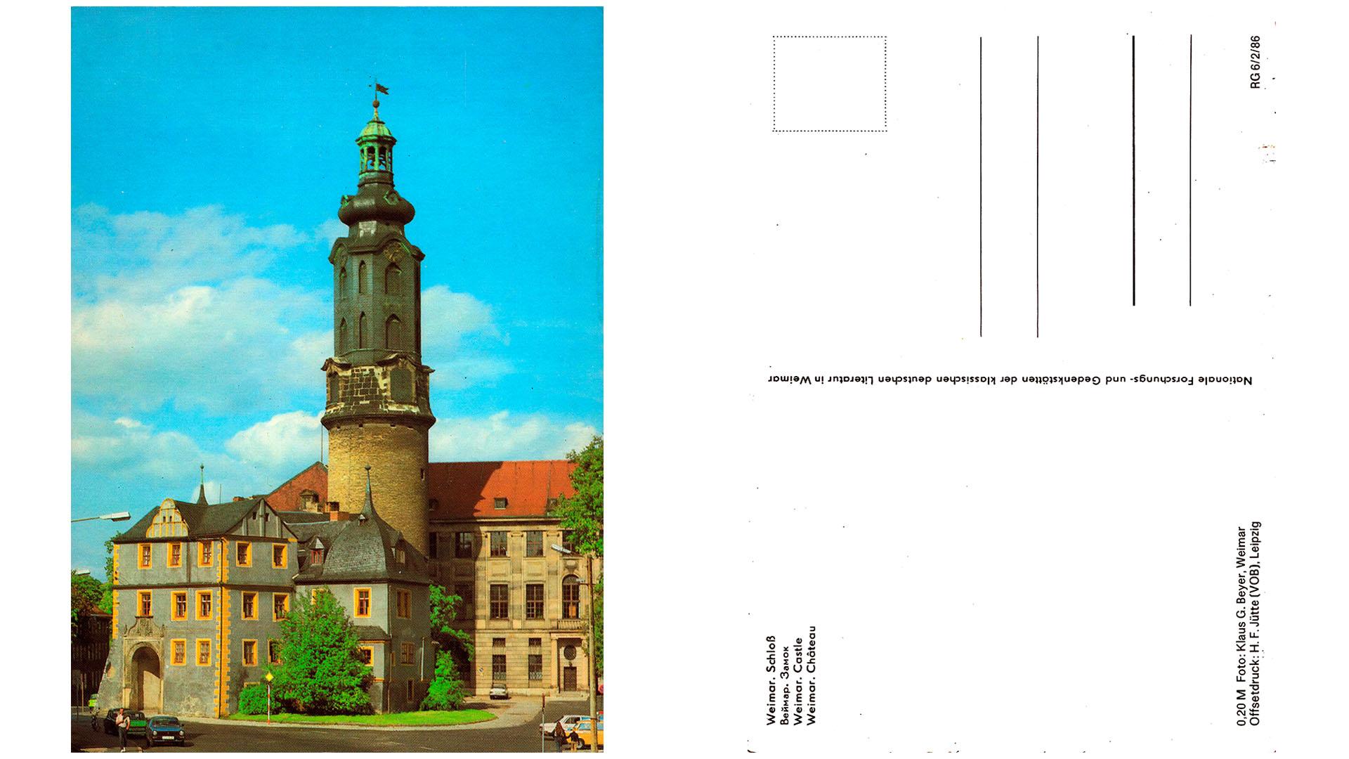 Weimar - Schloss