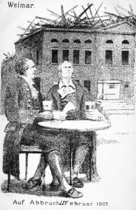 Hoftheater - Auf Abbruch 1907