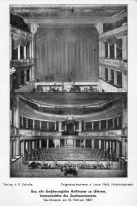 Hoftheater - Innenansicht