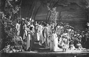 Aufführung im Hoftheater