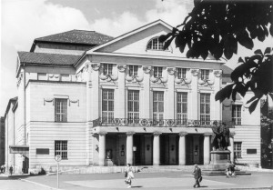 Dutsches Nationaltheater um 1964
