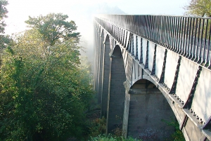 Llangollen-Kanal - Pontcysyllte Aquädukt