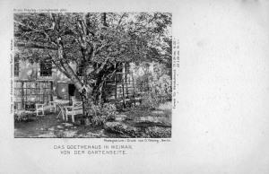 Goethehaus - Gartenseite