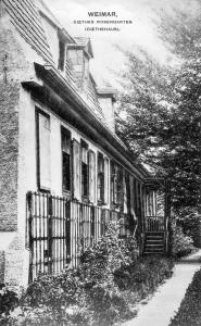 Goethehaus - Rosengarten