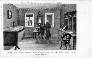 Goethehaus - Goethes Arbeitszimmer
