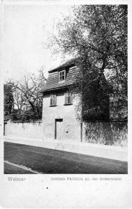 Goethes Pavillion an der Ackerwand