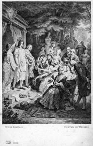 Goethe in Weimar - Gemälde