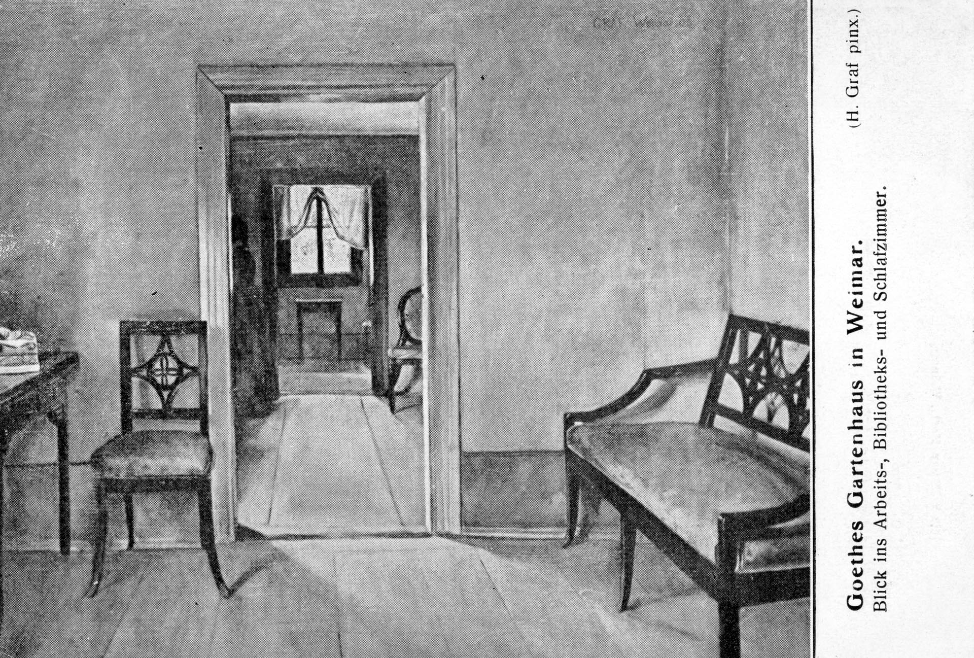 Goethe Gartenhaus - Goethes Arbeitszimmer
