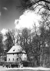 Goethe Gartenhaus um  1964