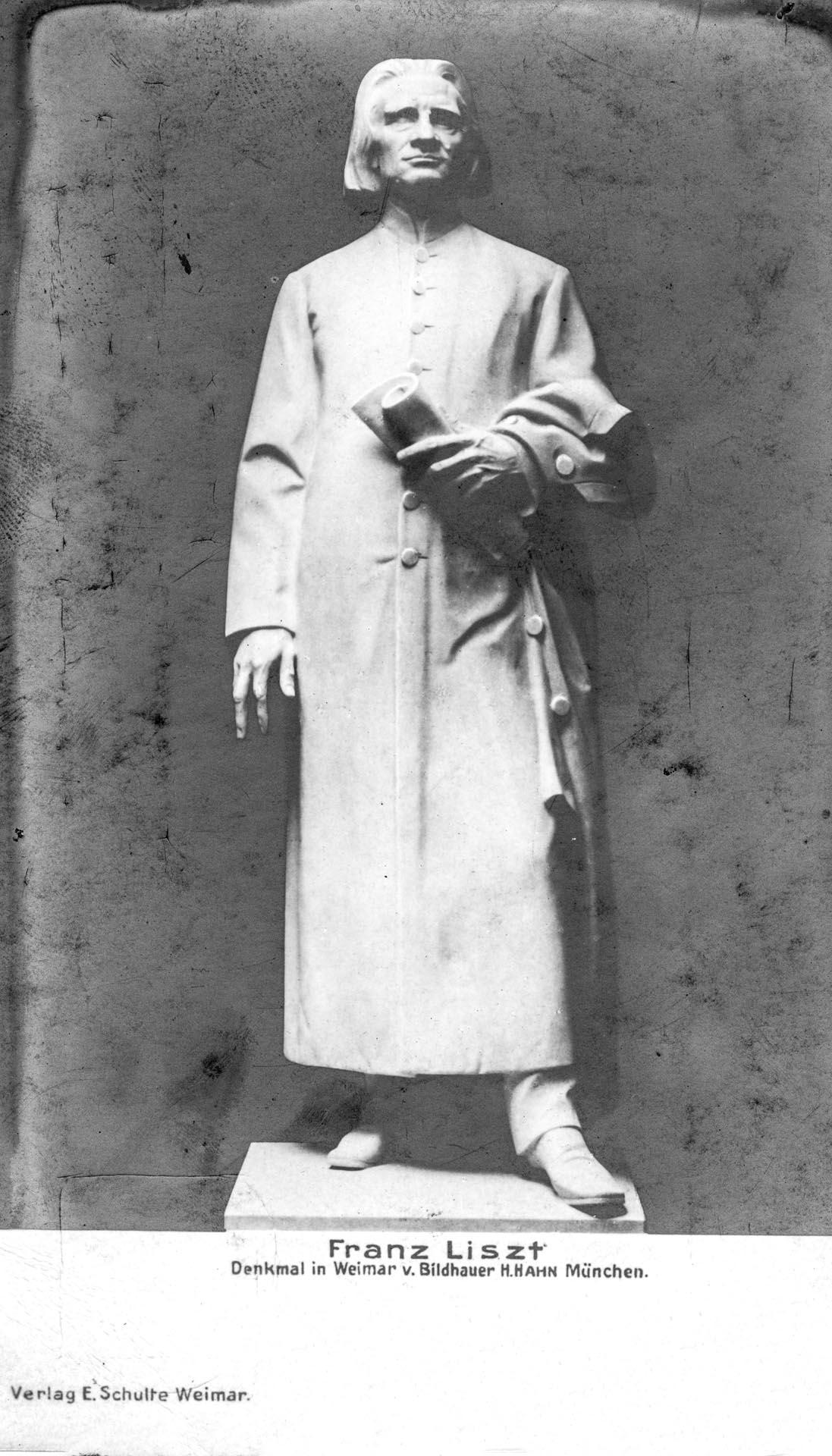 Denkmal Franz Liszt