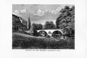 Sternbrücke im Park