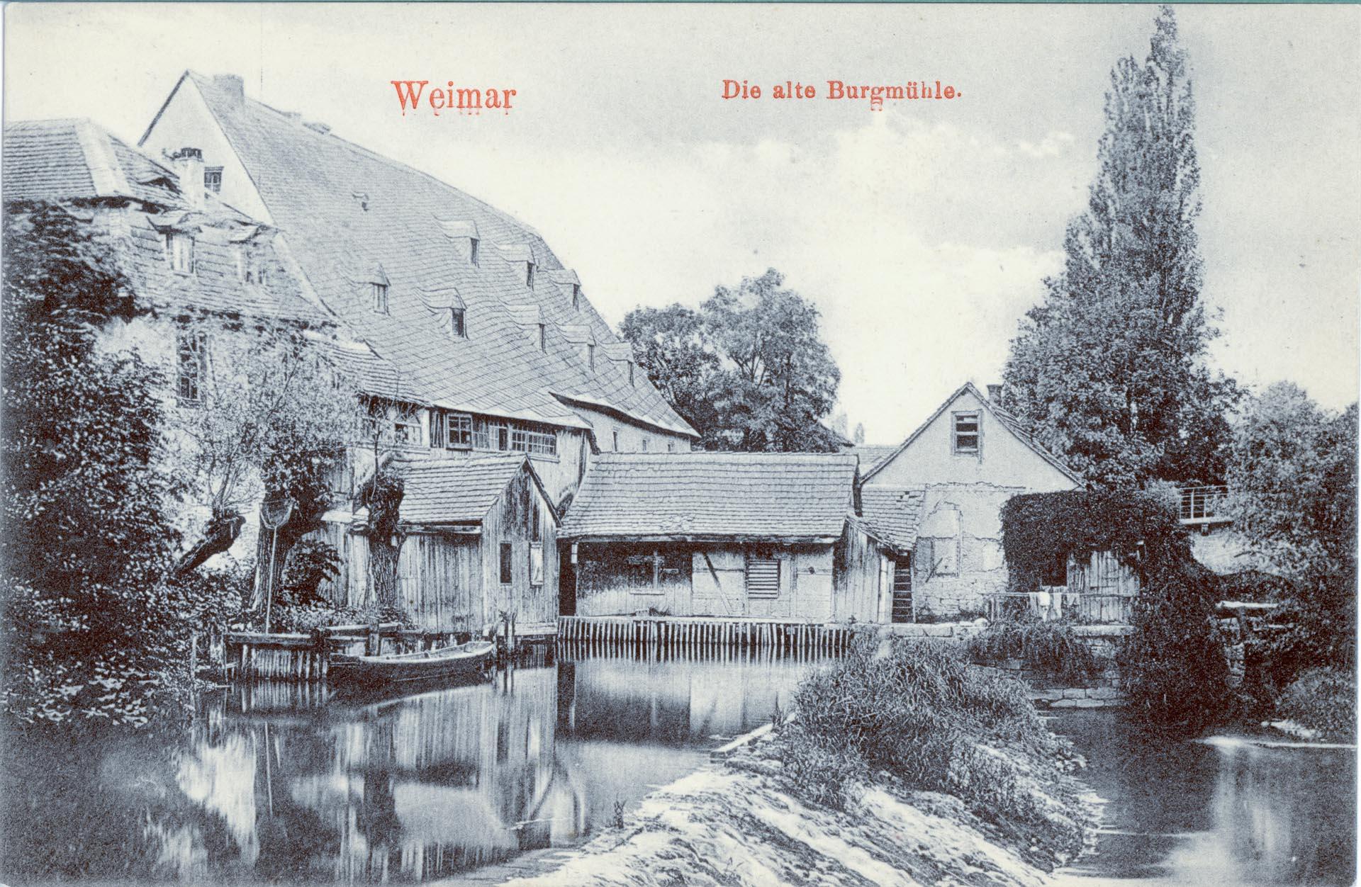 Die alte Burgmühle