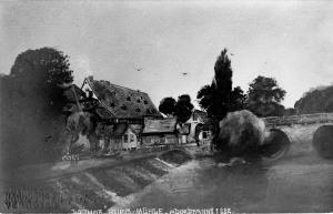 Burgmühle - abgebrannt 1882