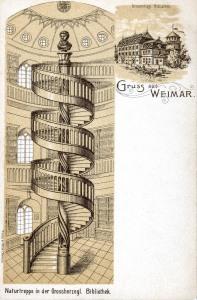 Grossherzogliche Bibliothek - Innenansicht
