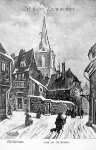 Gang zur Christmette - Herderkirche