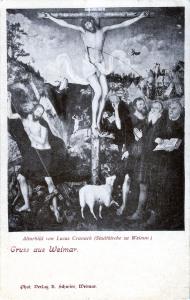Altarbild von Lucas Cranach in der Stadtkirche
