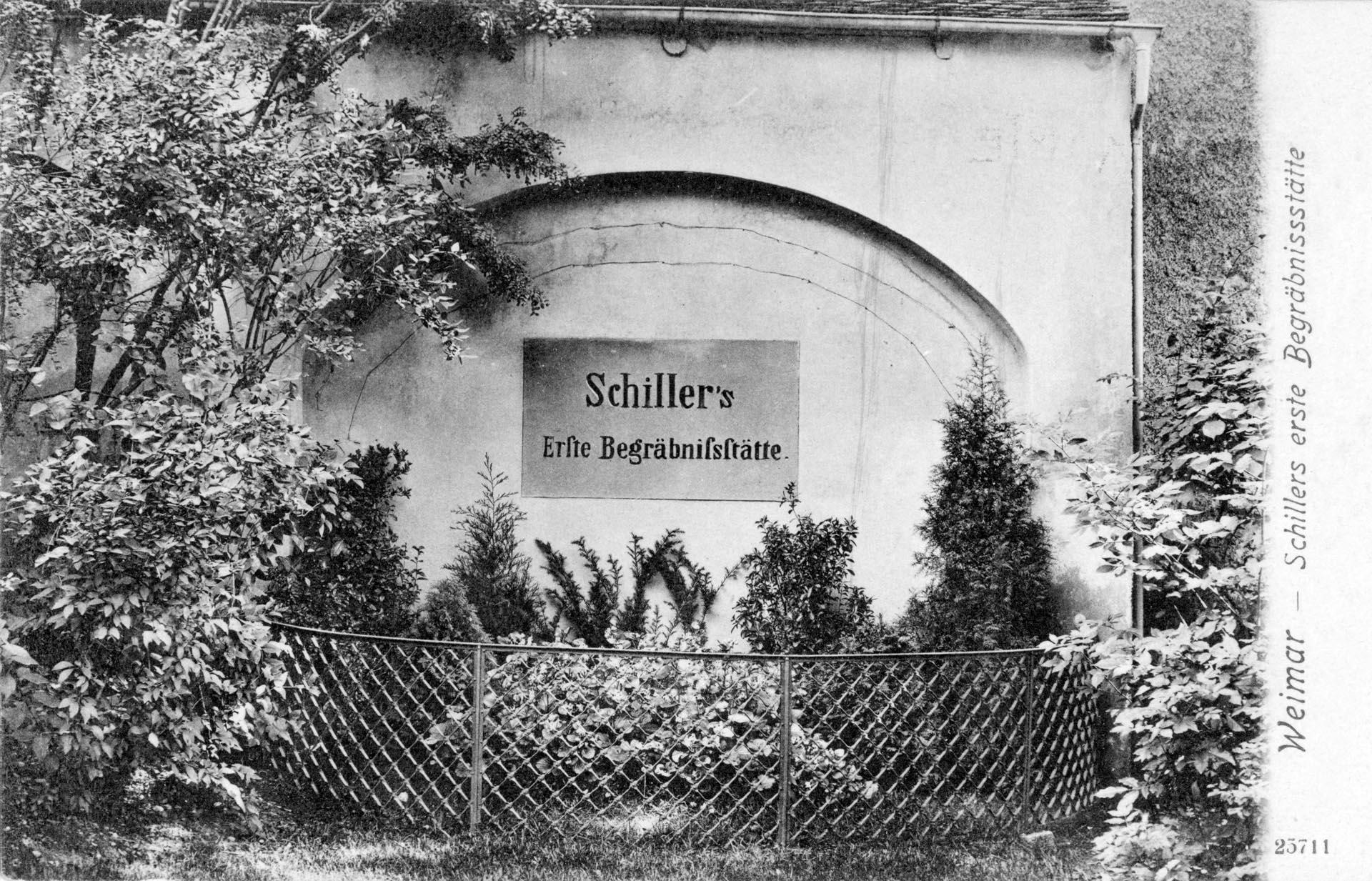 Schillers Grabstätte