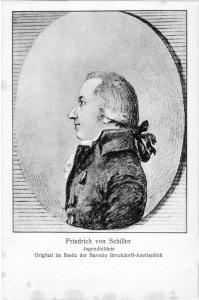 Friedrich von Schiller Jugendbildnis