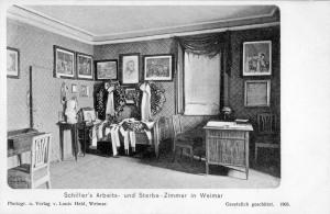 Schillerhaus Innenansicht