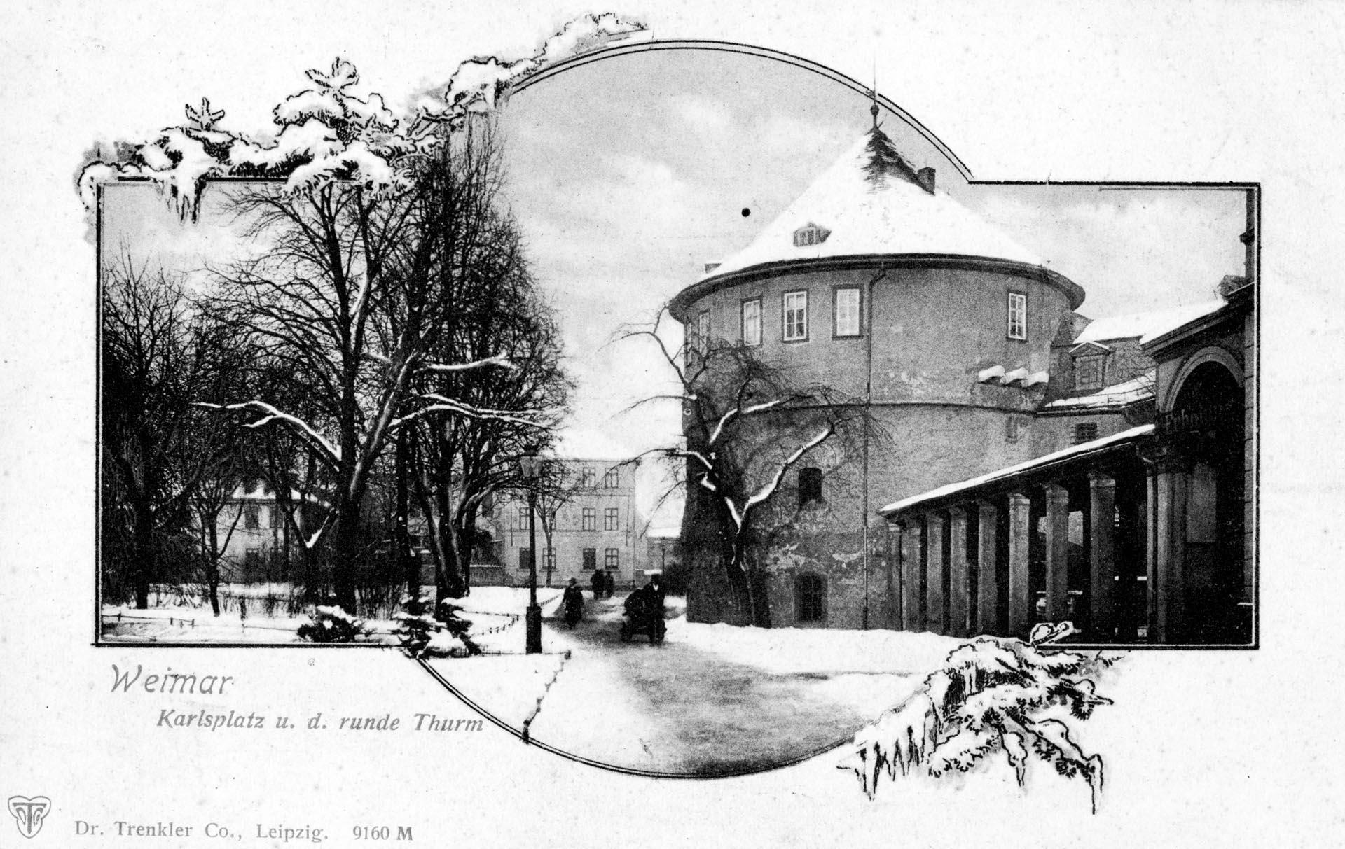 Karlsplatz und der runde Turm