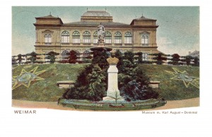Museum mit Carl August Denkmal