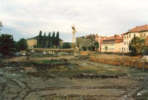 Abriss der Weimarhalle