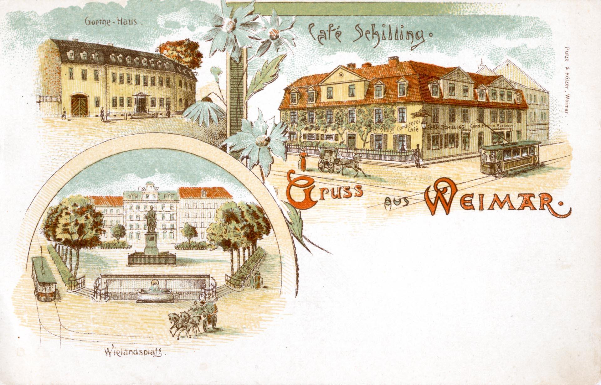 Cafe Schilling - Goethe Haus - Wielandplatz