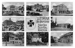Stadt der Dichter und Künstler - Weimarhalle - Museum - Deutsches Nationaltheater - Marktplatz - Stadtschloss - Schillerhaus - Goethes Gartenhaus - Goethehaus und Weißer Schwan