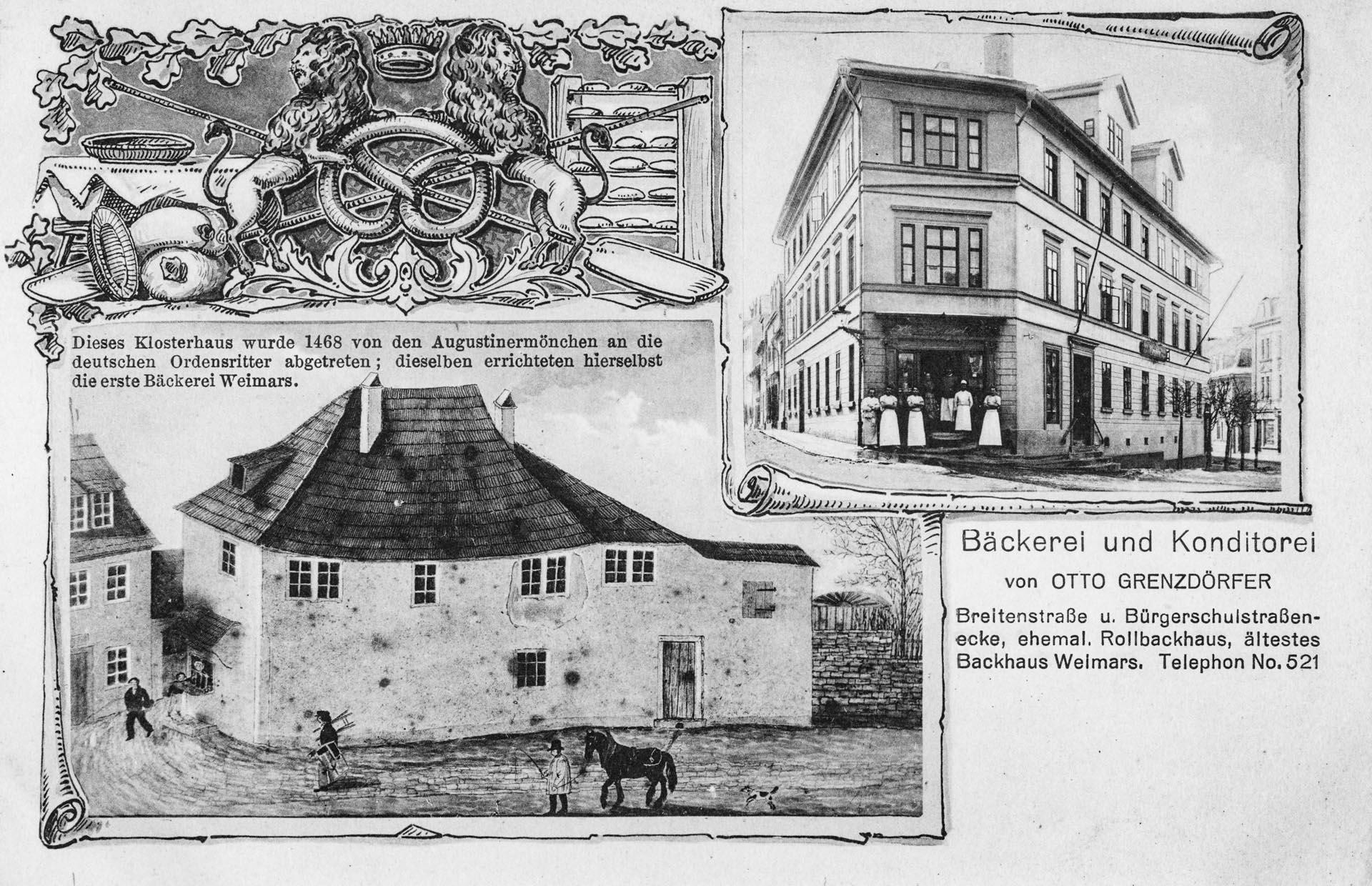 Bäckerei Otto Grenzdörfer, Breitenstraße